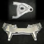 Automotive Media Blasting - Frame parts