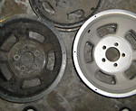 Automotive Media Blasting - Wheels